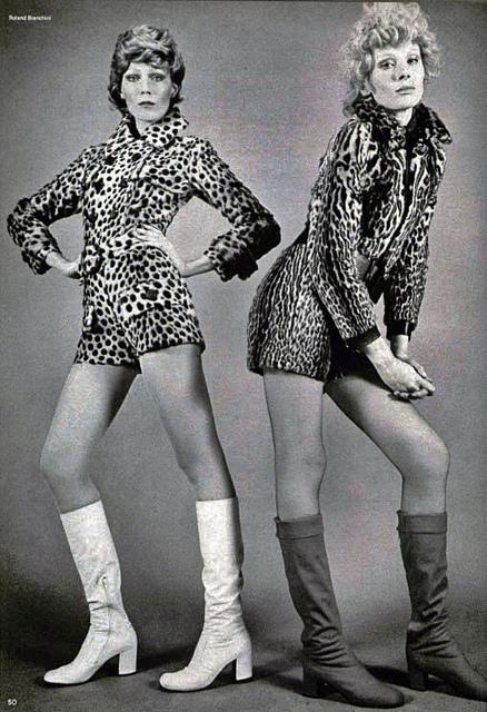 Resultado de imagem para Go-go boots 1960s