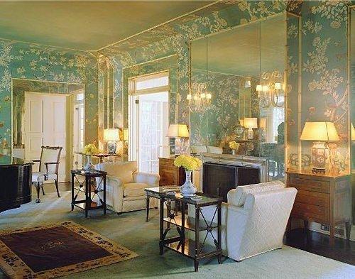 1930s Interior Design Elsie DeWolfe Design For A Sitting Room In
