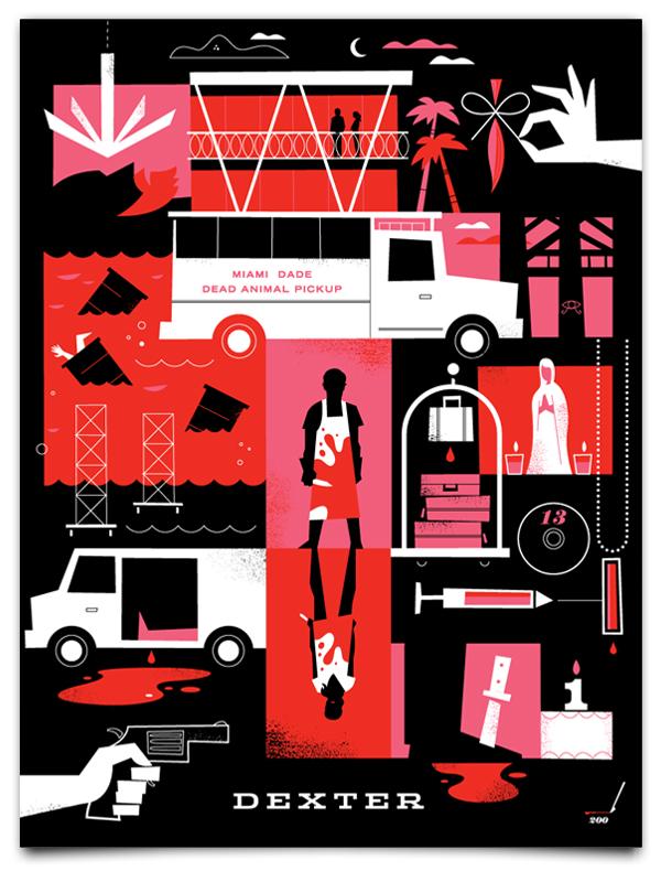 Dexter Season 5 Print