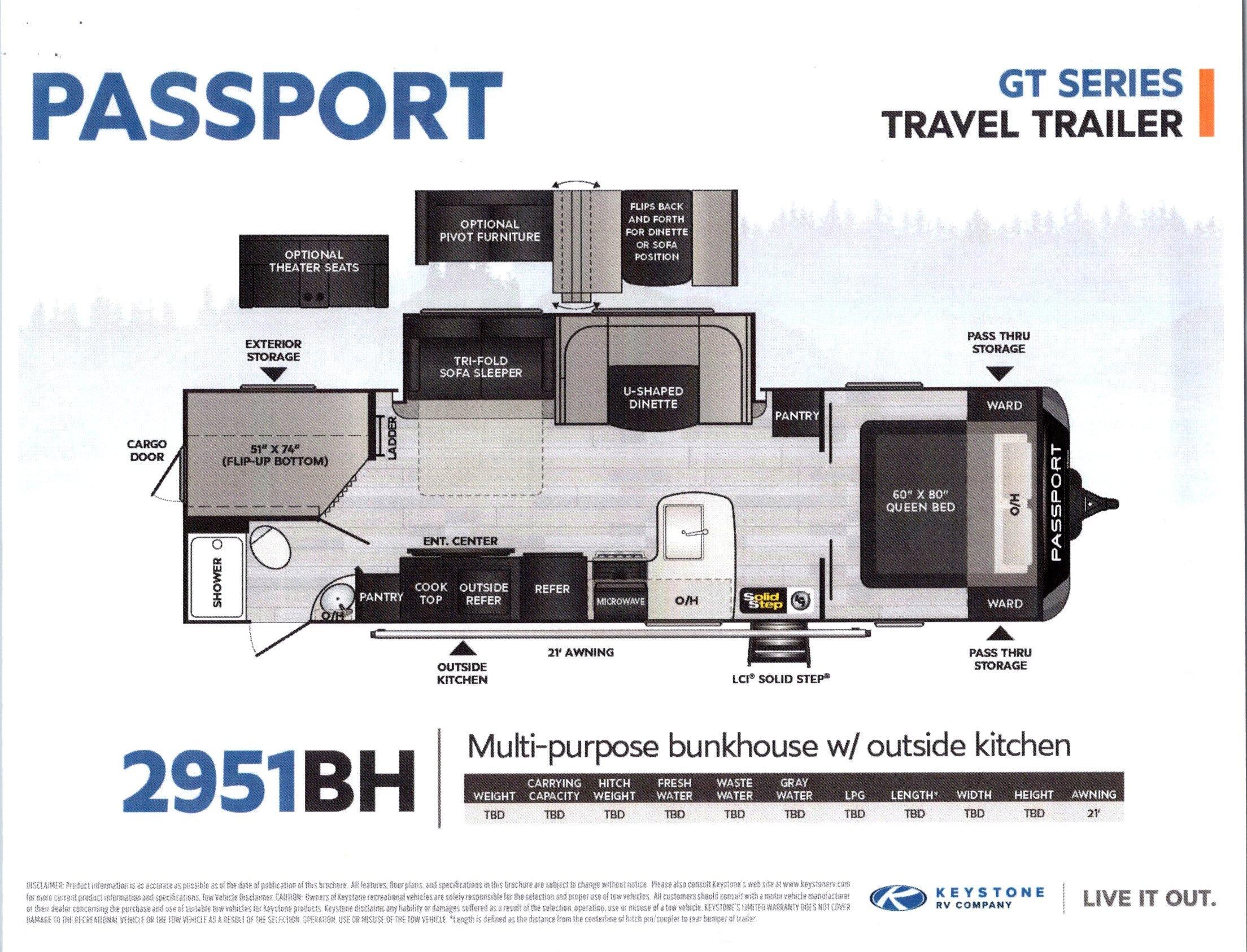 2021 Passport 2951BH GT Series