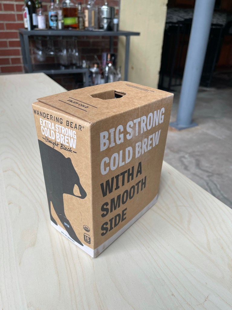 Wandering Bear Boxed Cold Brew