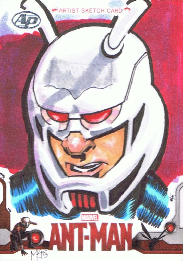 Ant-Man Sketch Card