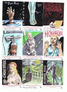 monsterwax sketch cards by matt stewart 1