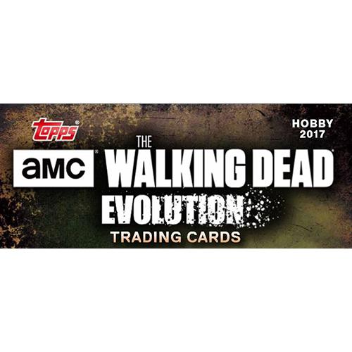 topps the walking dead evolution logo
