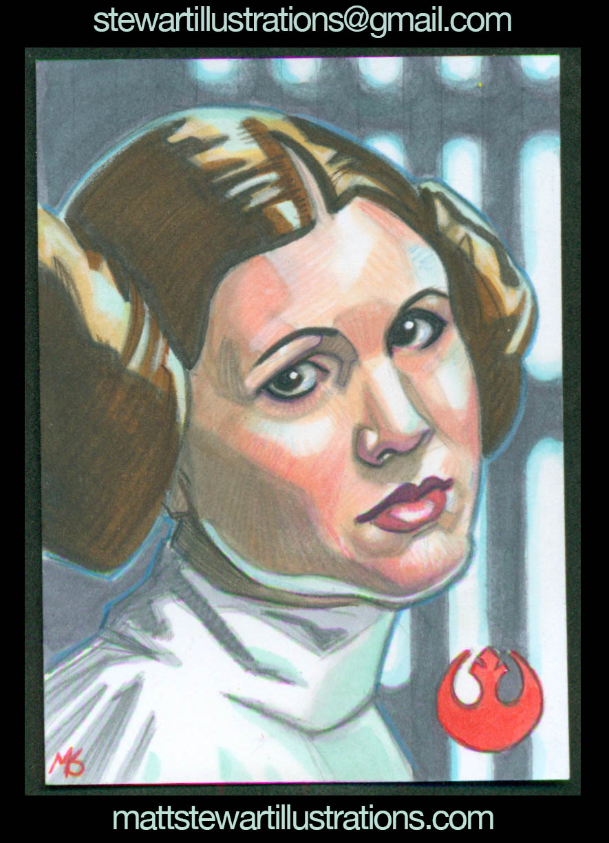 Recent Sketch Cards