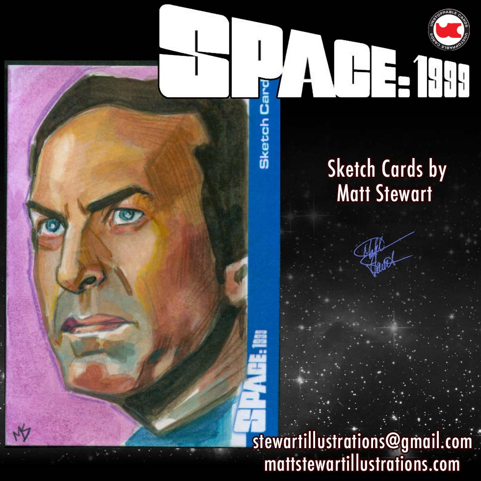 Space 1999 Sketch Cards