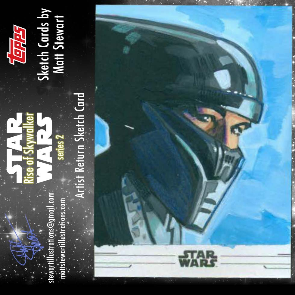 Star Wars: Rise of Skywalker Series 2 Sketch Cards