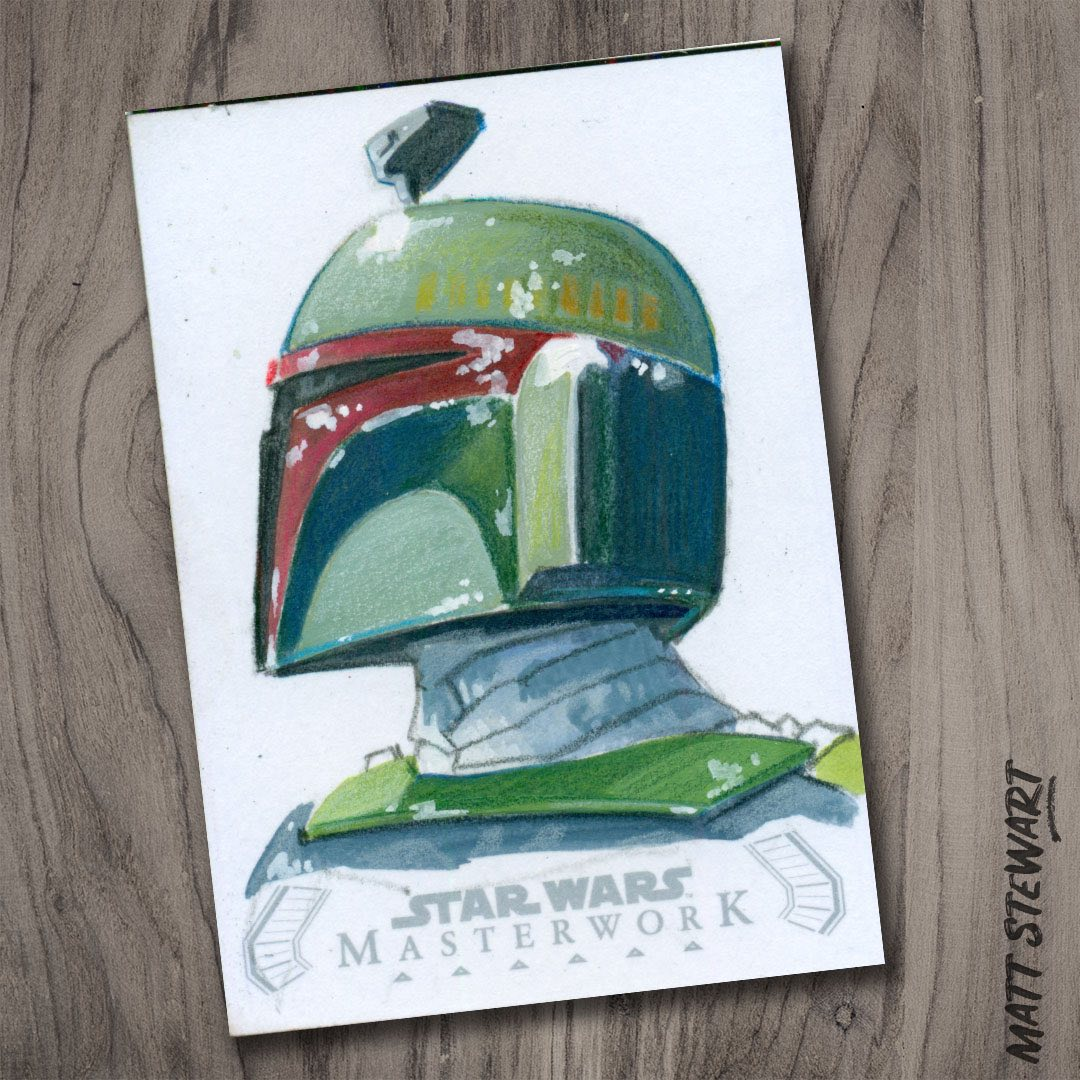 Topps 2020 Star Wars Masterwork Trading Card Artwork