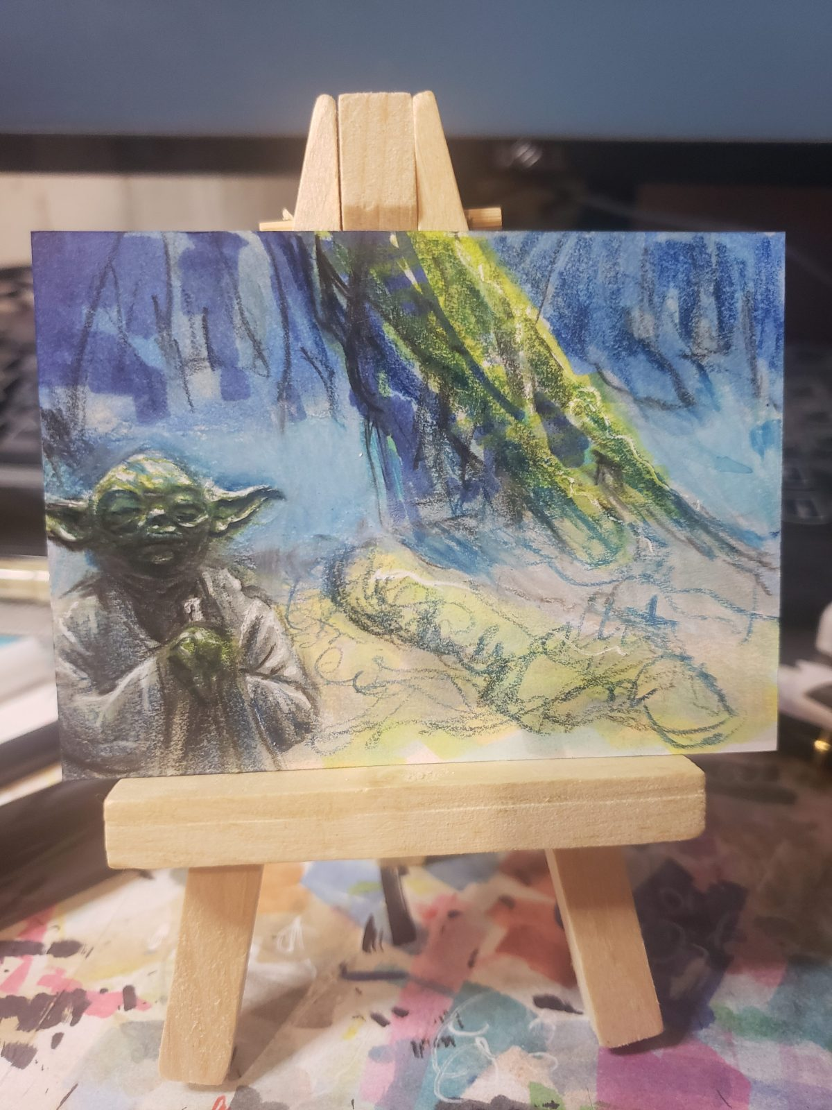 Getting to Know a Fellow Trading Card Artist, Jim Dickson
