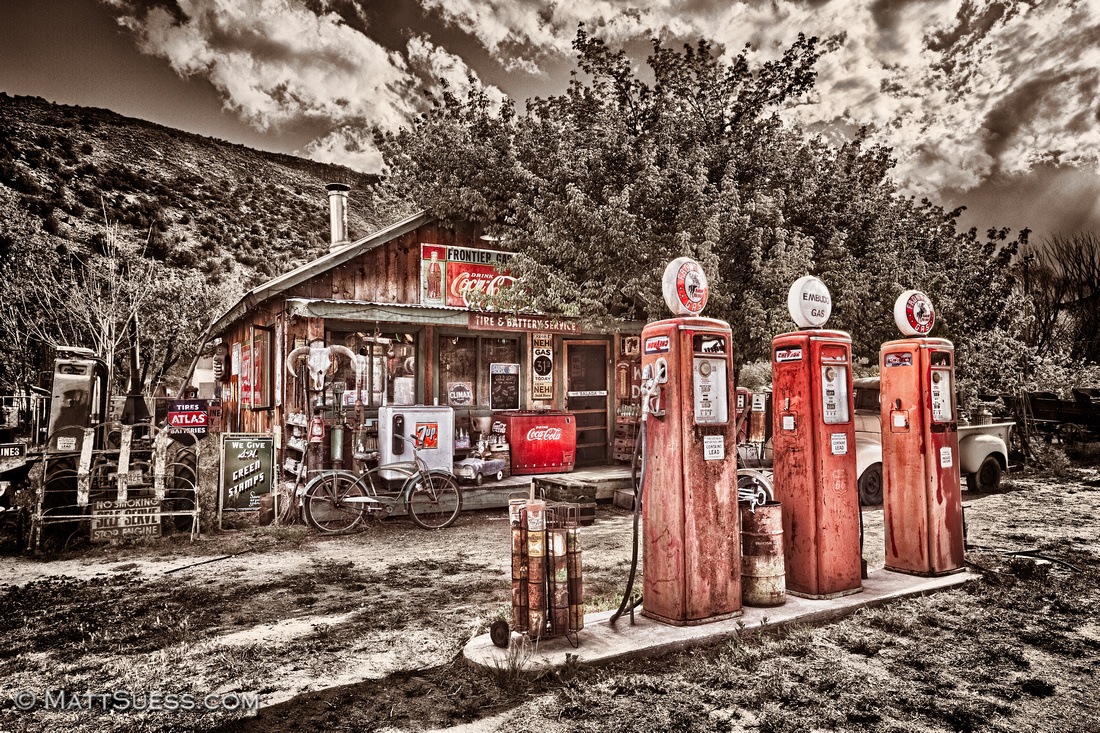 """Frontier Gas Station"""