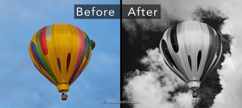 Balloon Before After