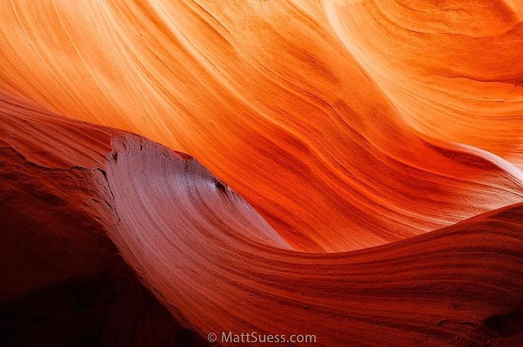 Antelope Waves - Antelope Canyon, Instagram post date: 02-17-2017