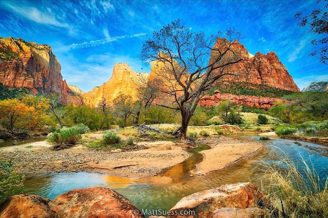 Zion National Park, Instagram post date: