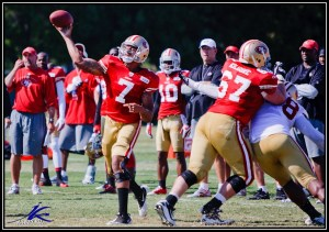 Burke gets the player several readers thought should have gone earlier. Photo of Colin Kaepernick by Jason Ku Photography.