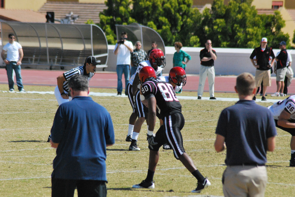 Vincent Brown's evaluation for me was a culmination of lessons learned before watching him. Photo by mclanea.