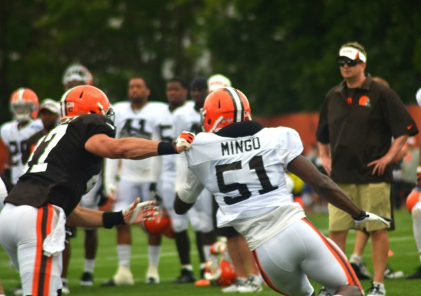 Barkevious Mingo may not be as smooth as Dion Jordan, but he's naturally more violent and disruptive. Photo by Erik Daniel Drost.