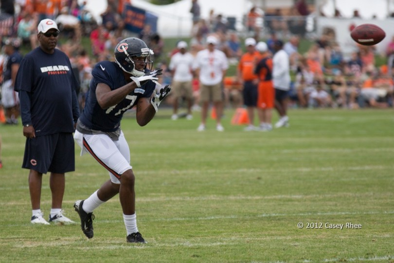Alshon Jeffery showed all the potential to be a top-five talent at his position in the 2012 draft class. Photo by Case Rhee.