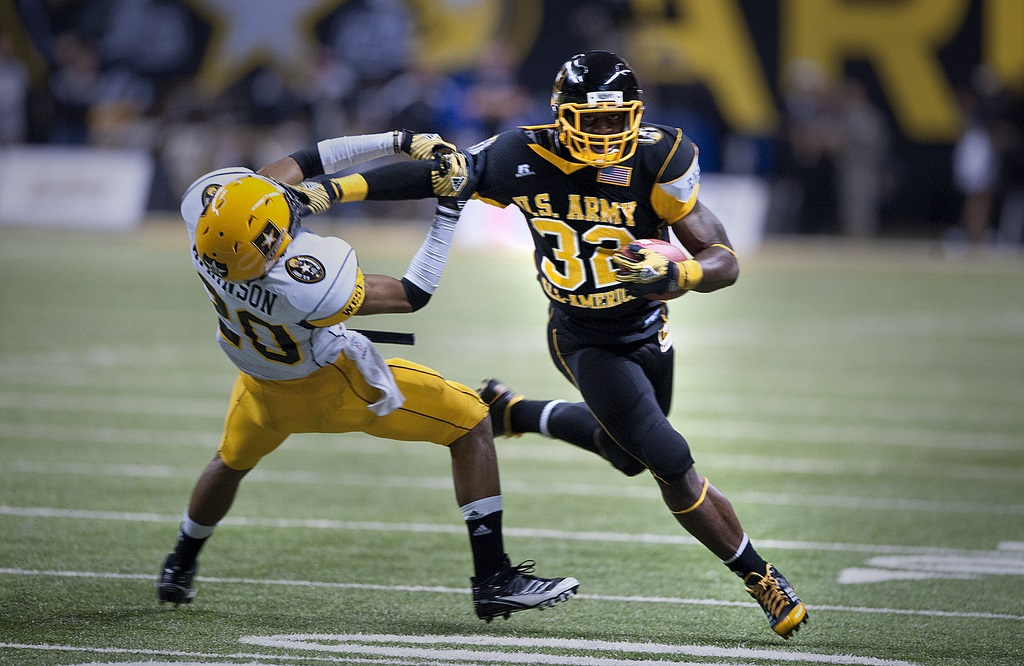 Photo of James Wilder by U.S. Army All-American Bowl