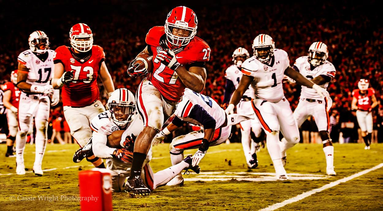 Nick Chubb Cassie Wright