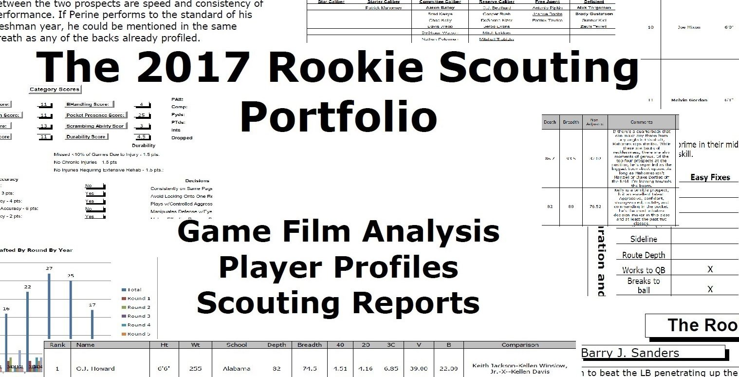 The Rookie Scouting Portfolio (RSP)Pre-Order The 2018 RSP Now!