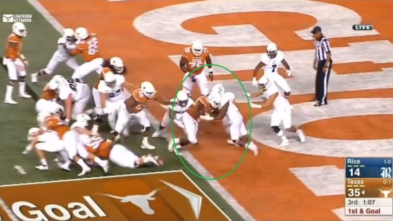 Matt Waldman of the RSP analyzes Texas Running Back D'onta Foremans 2017 NFL Prospect skills