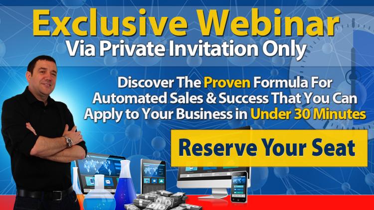 exclusive webinar invitation