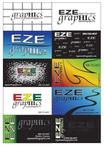E.Z.E Living Concept Business Cards