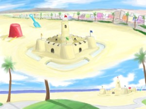 Giant Sand Castle
