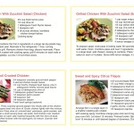 Brochure/Package Recipe Cards