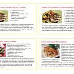 Brochure/Package Recipe Cards