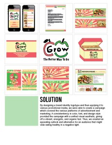 G.R.O.W (Great Recipes Of Wellness) Campaign Case Study