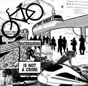 Alternative Transportation Collage