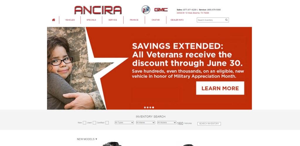 Ancira Buick GMC, Featured