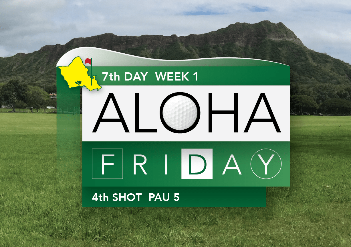 Aloha Friday: The Masters