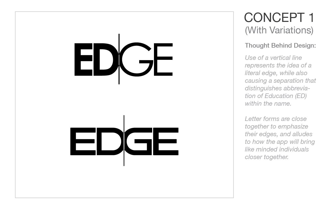 EDGE Logo Concept 1