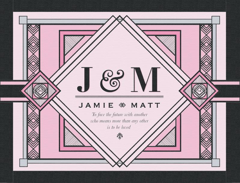 J & M Colored Print