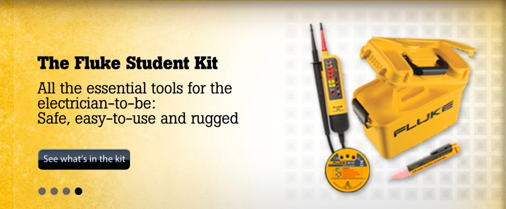 Fluke Electricians Starter Kit, Europe Campaign Internal Banners