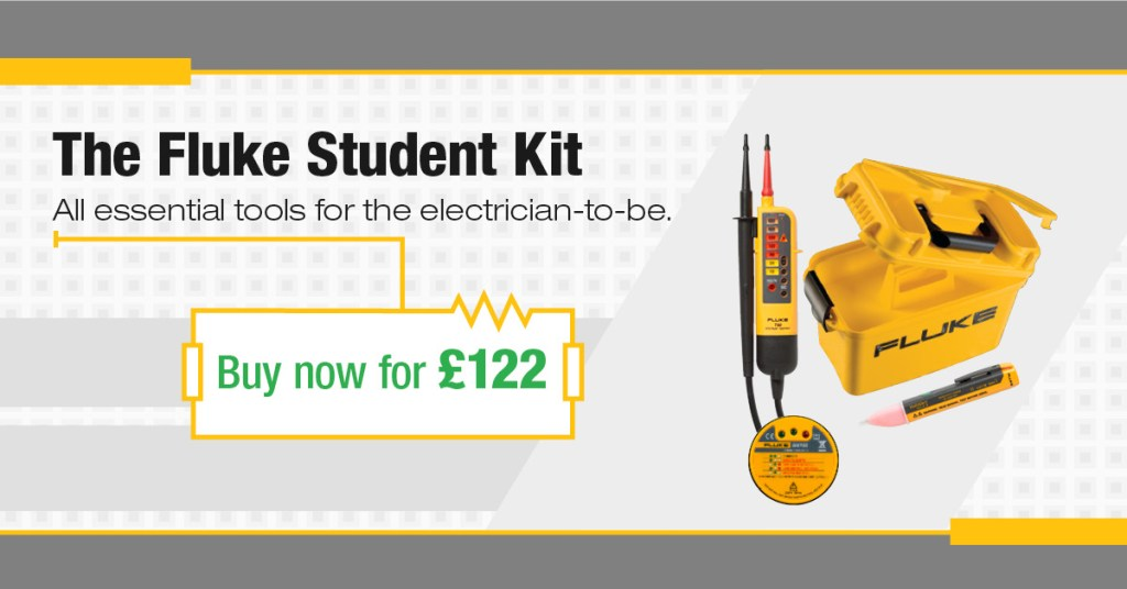 Fluke Electricians Starter Kit, Europe Campaign Facebook Ad