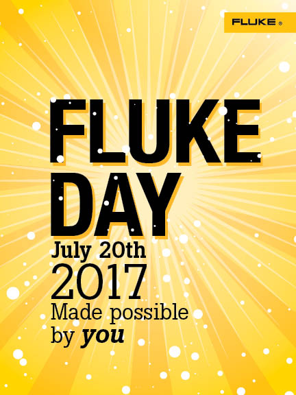 Fluke Day 2017 eNewsletter Promo