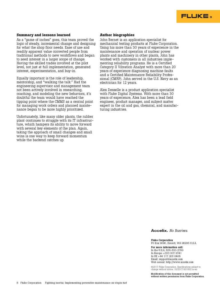 Fighting Inertia, White Paper