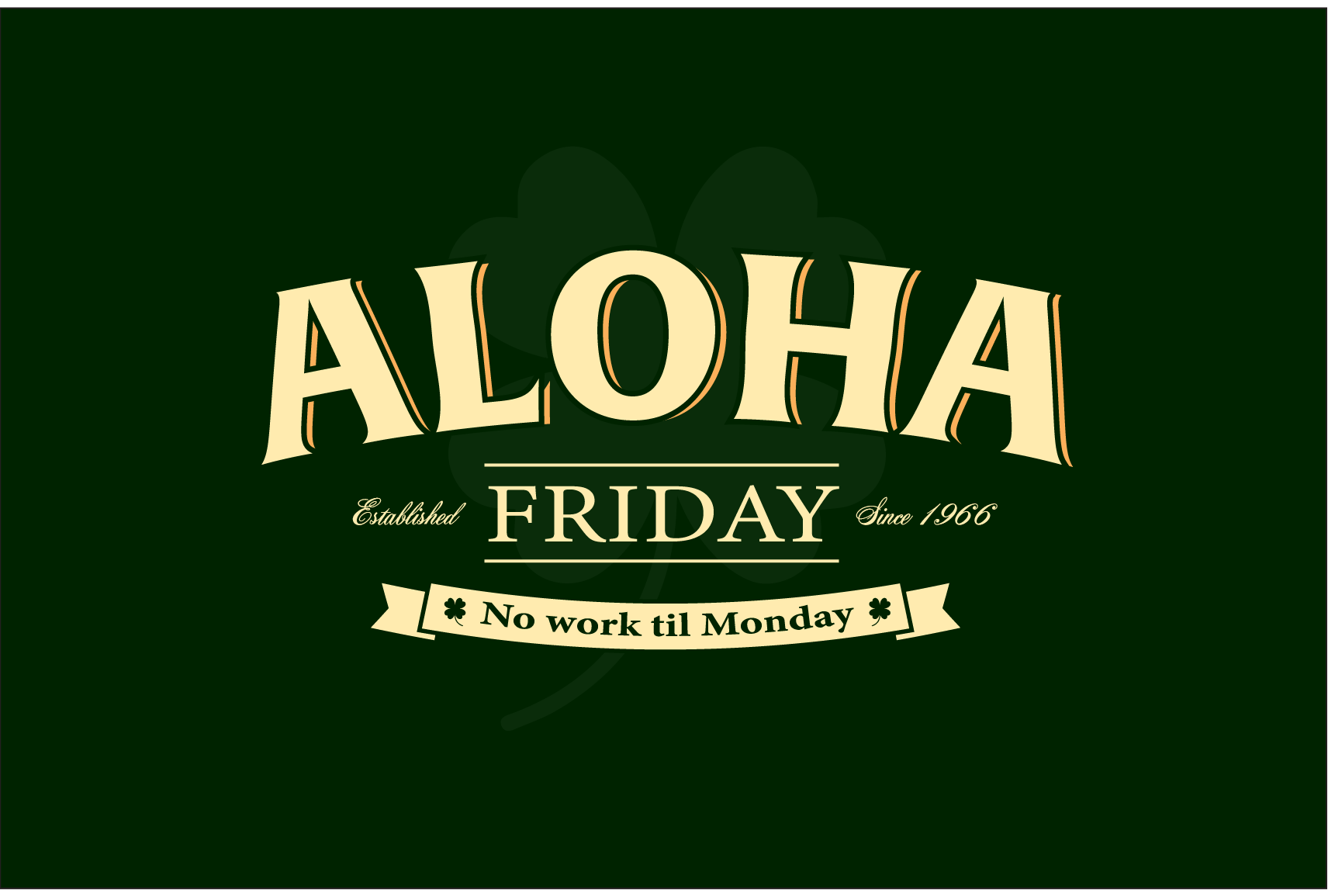 Shamrock Aloha Friday