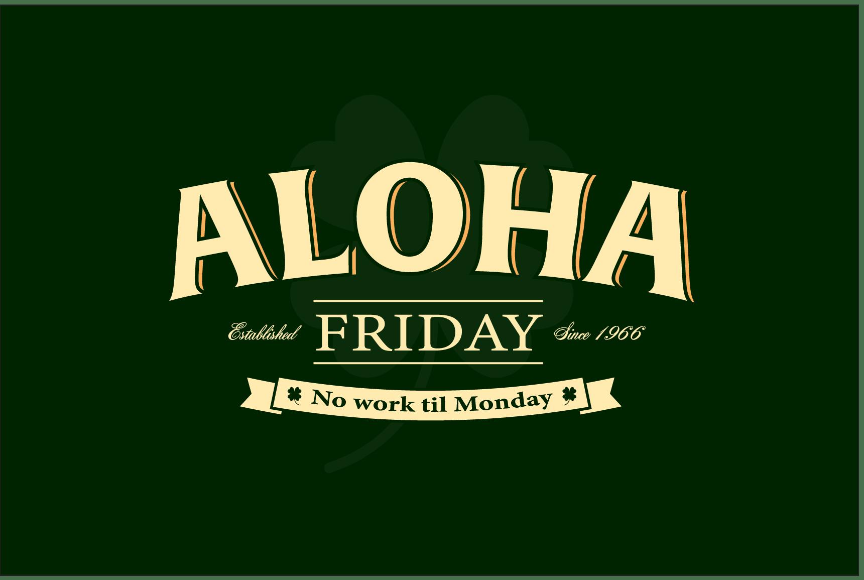 Shamrock Aloha Friday