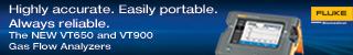 Fluke Biomedical New Product, VT650/VT900 Launch External Web Banners