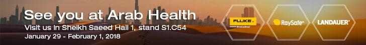 Fluke Biomedical Arab Health Web Banners
