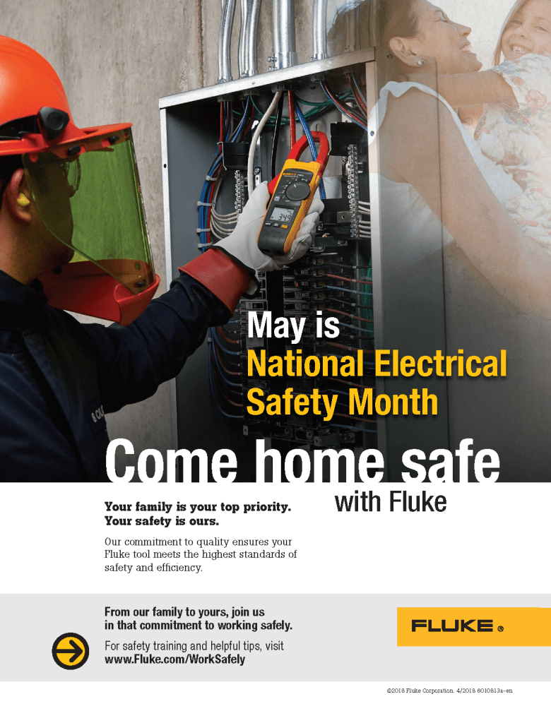 Electrical Safety Month Ad