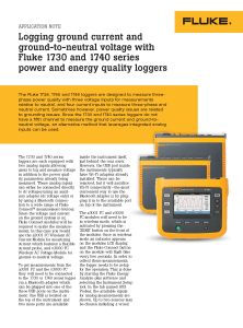 1740 Series Ground Current Application Note