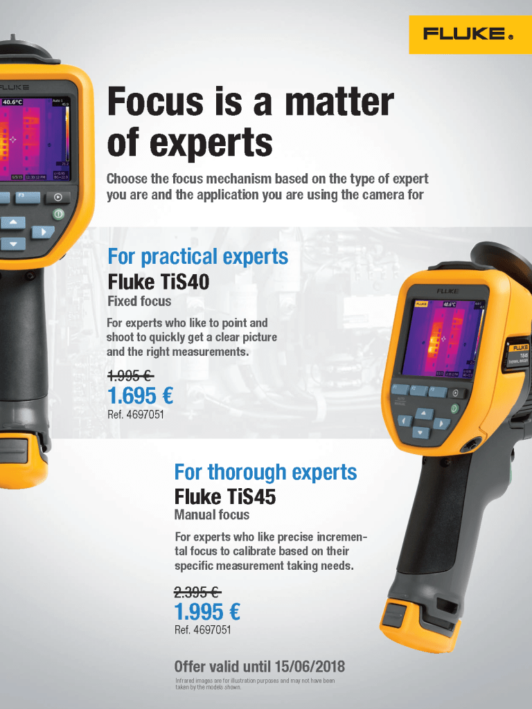 Fluke Europe, TiS40/TiS45 Promotion Flyer