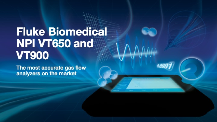 Fluke Biomedical New Product, VT650/VT900 PPT Template