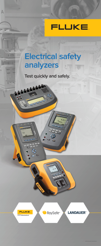 Electrical Safety Analyzers Pull Screen