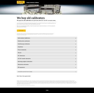 Obsolescence Campaign Web Page